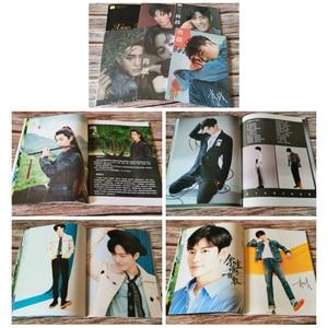 Image 5 - Xiao zhan wang yibo fãs coleção presentes do transporte da gota xiao zhan wuxian lan wangji álbum de fotos chen qing ling