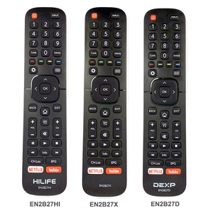 Image 1 - New Original Remote Control EN2B27HI EN2B27X EN2B27D For Hisense HILIFE DEXP LCD Smart TV With NETFLIX YouTube App Fernbedienung