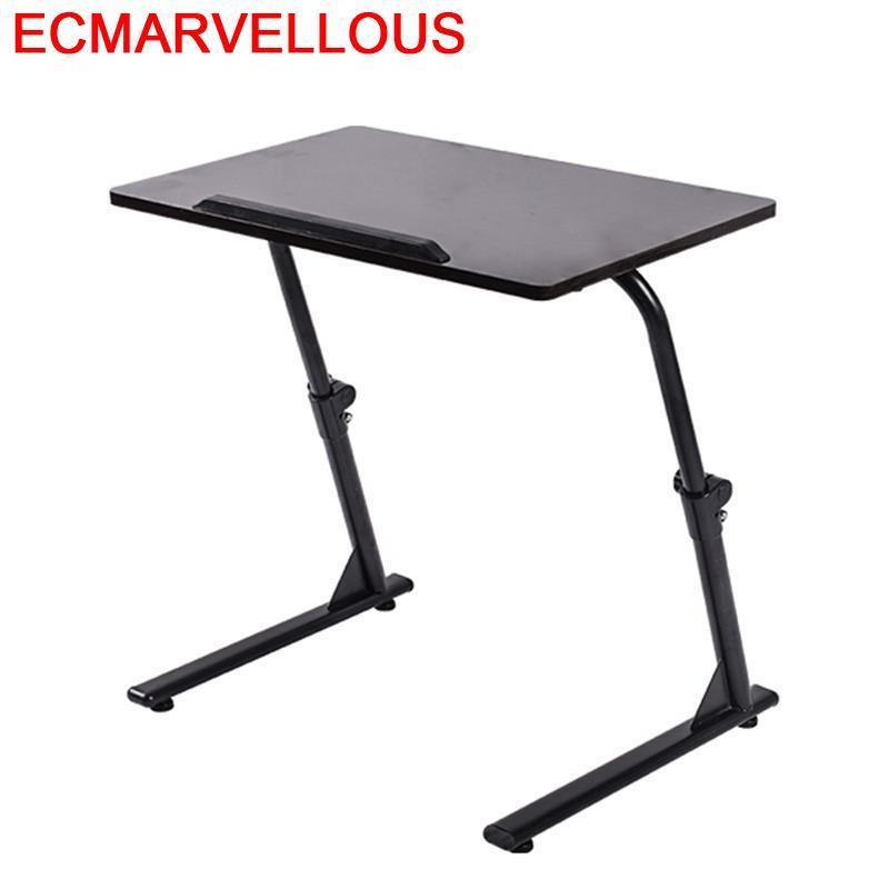 Office Furniture Biurko Escritorio Small Tisch Tavolo Bed Mesa Bedside Adjustable Laptop Stand Computer Desk Study Table