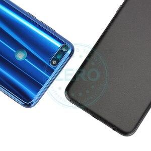 Image 3 - Oryginał dla Huawei Y7 Prime 2018 tylna pokrywa baterii tylna obudowa dla Huawei Nova 2 Lite wymiana baterii części zamiennych