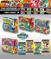 324 Carte/Scatola Sun & Moon Gx Mega Pokemon Brillante Carte Carte da Gioco Carte Battaglia Trading Carte Carte da Gioco per Bambini Pokemons giocattolo