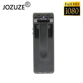 JOZUZE  B19 HD 1080P Mini Camera  Portable Digital Video Recorder Body Camera Night Vision Duty recorder Miniature DVR Camcorder socotran dsj s8 hd enforcement recorder police night vision body video security pocket police camera video recorder 16gb memory