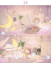 Animal Crossover New Horizon House Furniture Sweet Design 5 Star Island Animal Crossing Furniture Merch Dodo Code Online Service