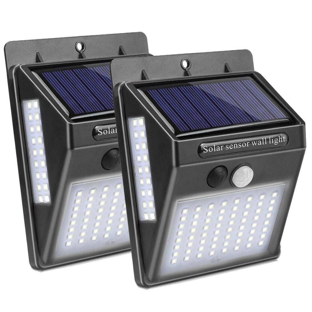 Portable Solar LED Light Lantern Wireless Waterproof Motion Sensor Lights