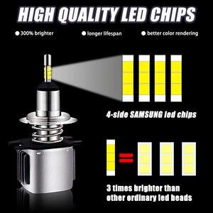 Image 3 - INLONG Mit SAMSUNG Chips H1 Led Scheinwerfer Lampen H4 H7 LED H11 H8 9006 HB4 9005 Hb3 16000LM 5500K 6500K Scheinwerfer Auto Nebel Lichter