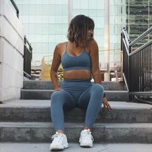 Nepoagym Women FLOWING Seamless Sport Bra High Impact Sports Fitness