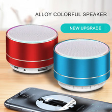 A10 Wireless Bluetooth Audio Small Steel Cannon Subwoofer Mini Portable Gift Card Bluetooth Speaker(China)