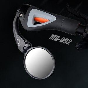 Зеркало заднего вида Hafny для велосипеда, из нержавеющей стали, для езды на велосипеде, гибкое