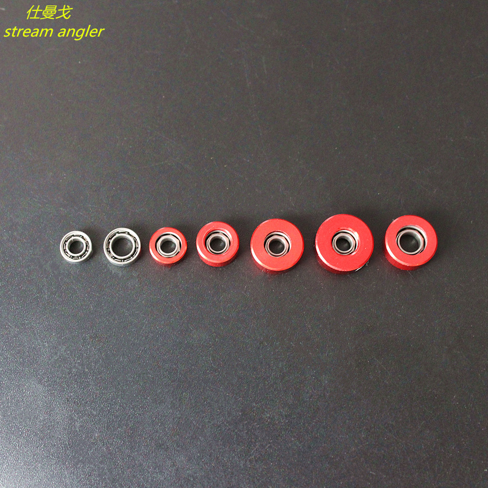 Tiny Bearings With SIC Ceramic Ball Bearing Suitable For Baitcasting Reel Accessories 2 Pcs/lot