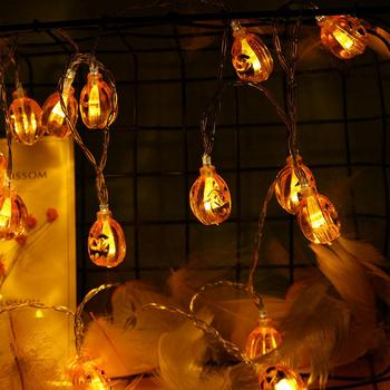 Halloween Pumpkin Fairy LED String Lights Battery Operated Festival Home Decor image