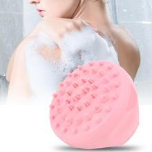 Household Bathing Massage Brush Multi-Functional Silicone Scalp Shampoo Brushes Bathroom Bath Gadgets