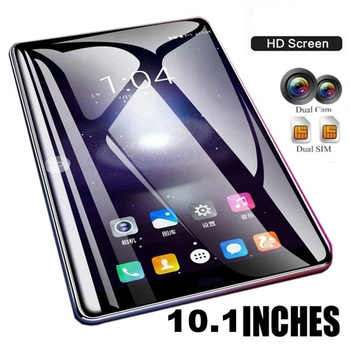 New WiFi Tablet PC 10.1Inch Ten Core 4G Network Android 7.1 Arge 2560*1600 IPS Screen Dual SIM Dual Camera Rear Androids Tablet
