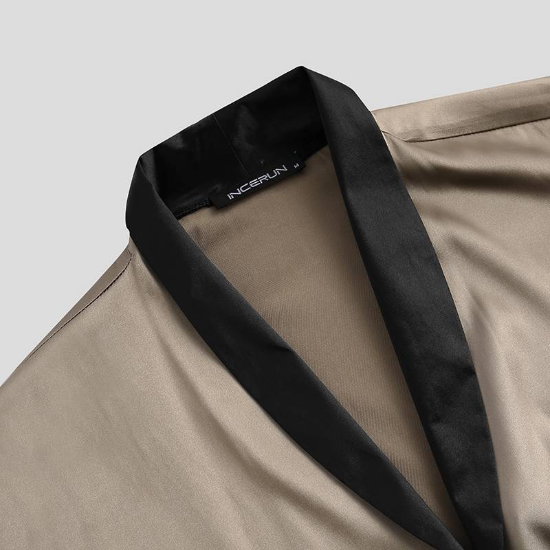 elástica baggy masculino pijamas define S-5XL incerun
