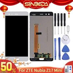 """Oryginalny 5.2 """"ZTE Nubia Z17 Mini S NX589J wyświetlacz LCD montaż digitizera ekranu dotykowego dla Z17 MiniS NX589H wymiana wyświetlacza w Ekrany LCD do tel. komórkowych od Telefony komórkowe i telekomunikacja na"""
