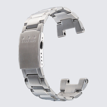 Timelee الفولاذ المقاوم للصدأ مربط الساعة ل حزام (استيك) ساعة GST 210 ، GST S100 ، GST W110 حزام ساعة اليد