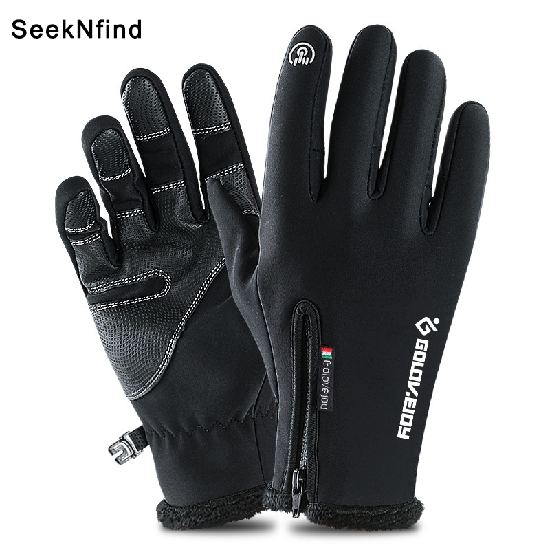 Winter Warm Touch Screen Gloves Waterproof Windproof No-slip Winter gloves for Winter Sports Cycling Skiing Climbing Men Women