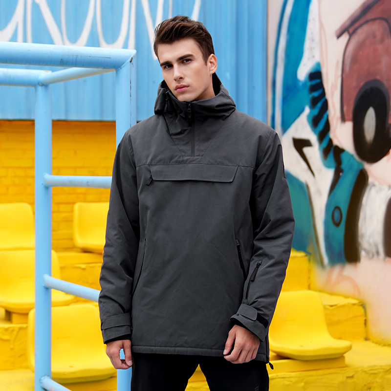 RUNNING RIVER Brand Men Snowboarding Hoodie 2019 High Quality Hooded Outdoor Sports Ski Snowboard Jacket 4 Colors 4 Sizes N9436H