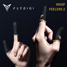 Flydigi Wasp Feelers 2 funda para el dedo a prueba de sudor cubierta del dedo teléfono móvil tableta juego PUBG pantalla táctil pulgar 4 Uds