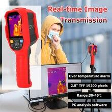 UNI T Термальность изображений Камера термометр изображений Камера изображения в режиме реального времени Температура тестер с программным управлением через ПК анализ Тип с портом типа C