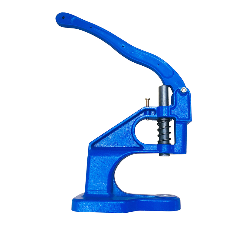 Handmade Manual Press Machine Stud Rivet Grommet Eyelets Snap Tools Manual Punching Machine Jewelry Making Tools