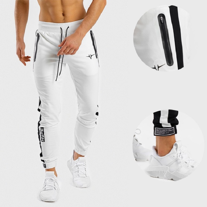 Fitness Trousers Men S Squat Stretch Slim Fit Pants Brothers Running Casual Sports Gym Pants Pantalones Deportivos Para Hombre Running Pants Aliexpress