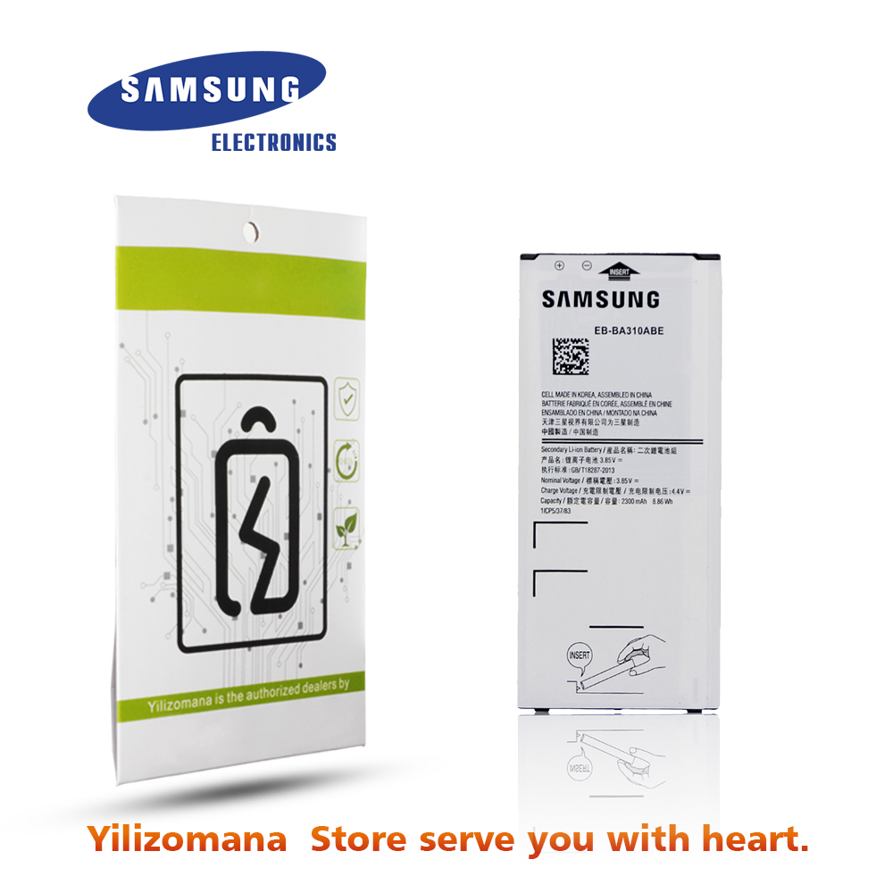 SAMSUNG Replacement A310F Original for Galaxy Battery Eb-ba310abe/Nfc 2300mah