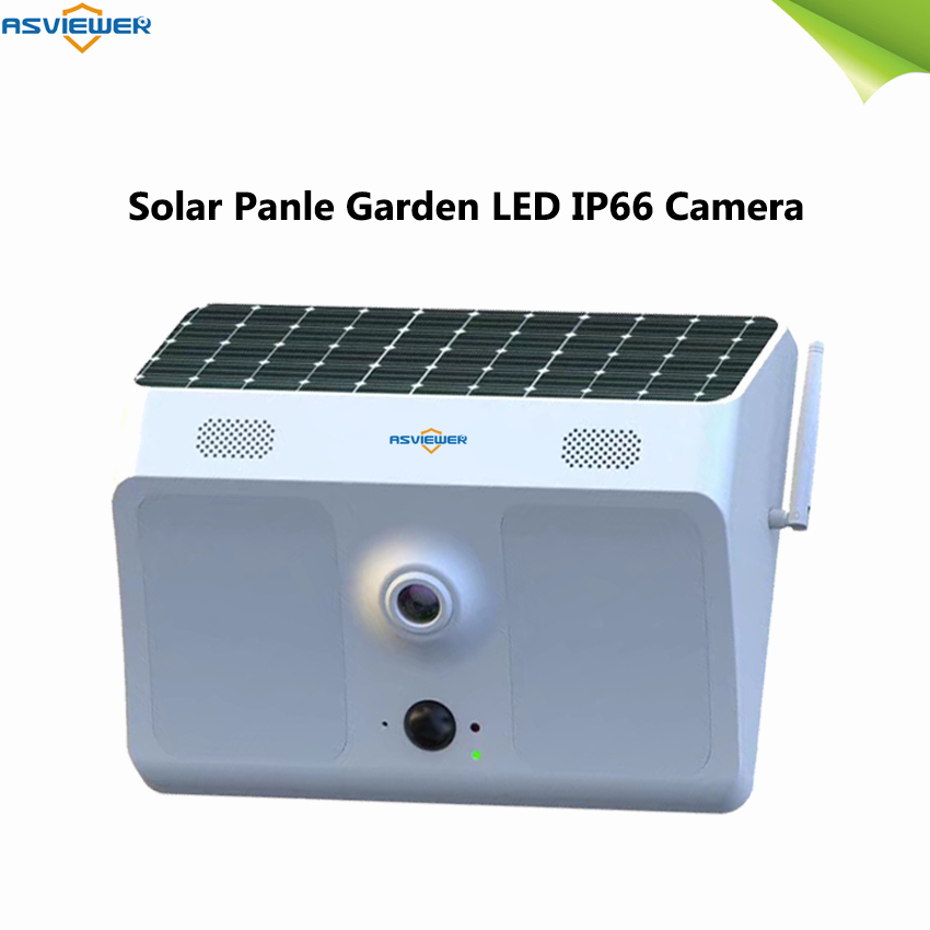 1080P Wide-angle Solar Battery Ip66 Outdoor WiFi IP Camera Wall Light Surveillance Camera For Garden Patio Yard Courtyard Path