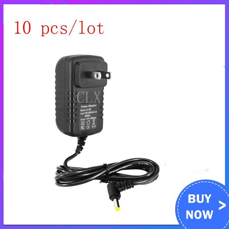 10 Pcs/lot5V 3A Power Supply For Orange Pi PC / Plus DC 4.0 Mm EU US Power Charger Adapter For Orange Pi PC Plus 2 Free Shipping