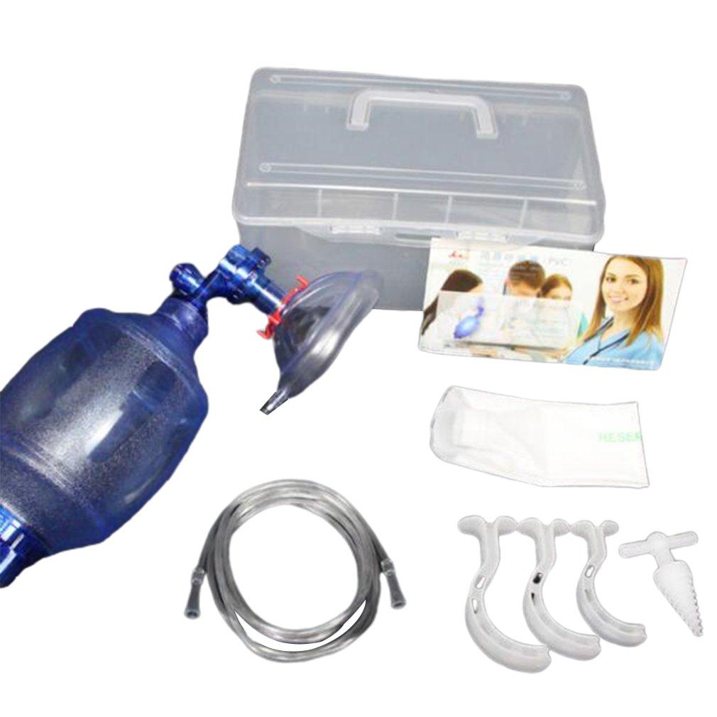 Simple Respirator Artificial Resuscitator Emergency Wake-up Ball  Emergency   Airbag Breathing Balloon