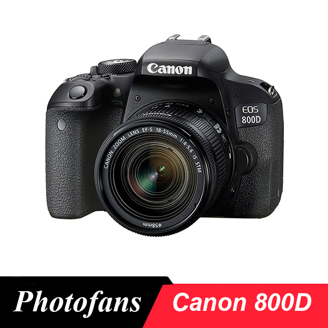 Canon 800D / T7i DSLR Camera with 18 55mm Lens|DSLR Cameras| - AliExpress