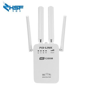 Image 1 - AC1200M Wireless Relay Wifi Signal Amplifier Router 5G High Power Wall Crossing Expander Factory