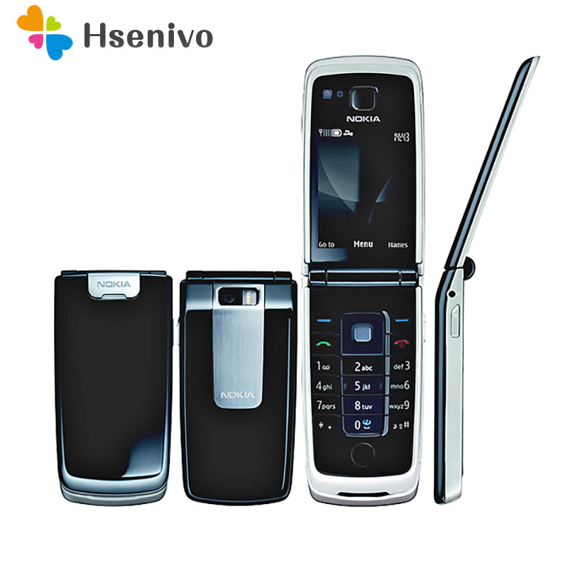 6600F Original Phone Nokia 6600 Fold Bluetooth Fm Radio  Cell Phone Black Color In Stock Refurbished