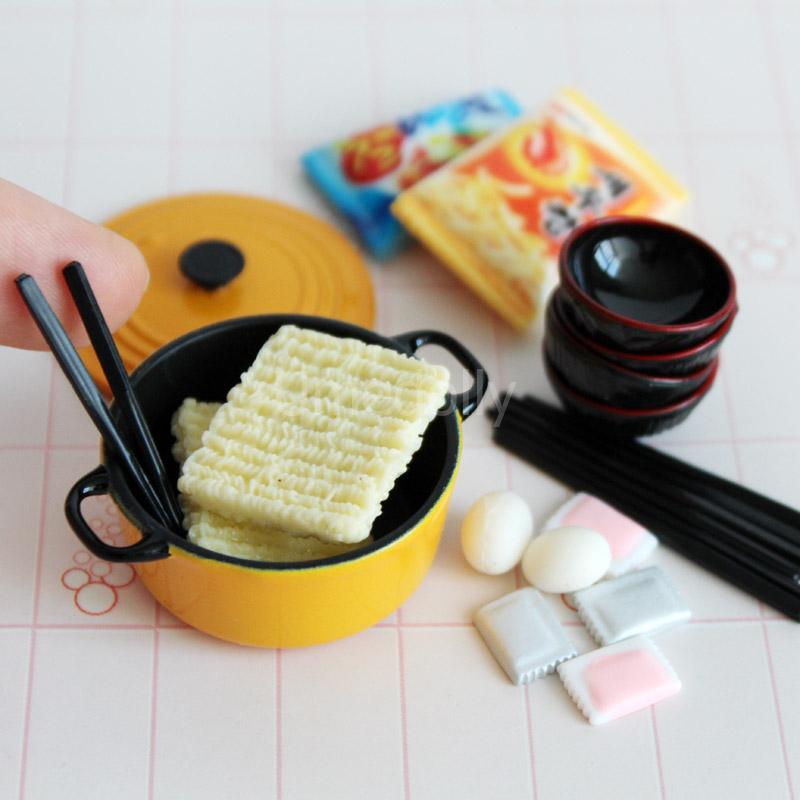 1:12 Dollhouse Miniature Transparent Plastic Dessert Pot Pastry Kitchen JBM0JEU