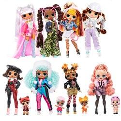 Новинка 2021, кукла-сюрприз LOL, куклы OMG, модель серии Pop Remix, модные фигурки «сделай сам» для зимнего диско, экшн-игрушки для детей, подарок на де...
