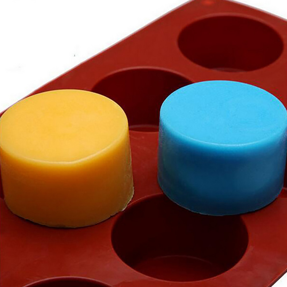 Image 4 - Silicone Mold For Cake Pastry Baking Round Jelly Pudding Soap Form Ice Cake Decoration Tool Disc Bread Biscuit Mould #15-in Cake Molds from Home & Garden
