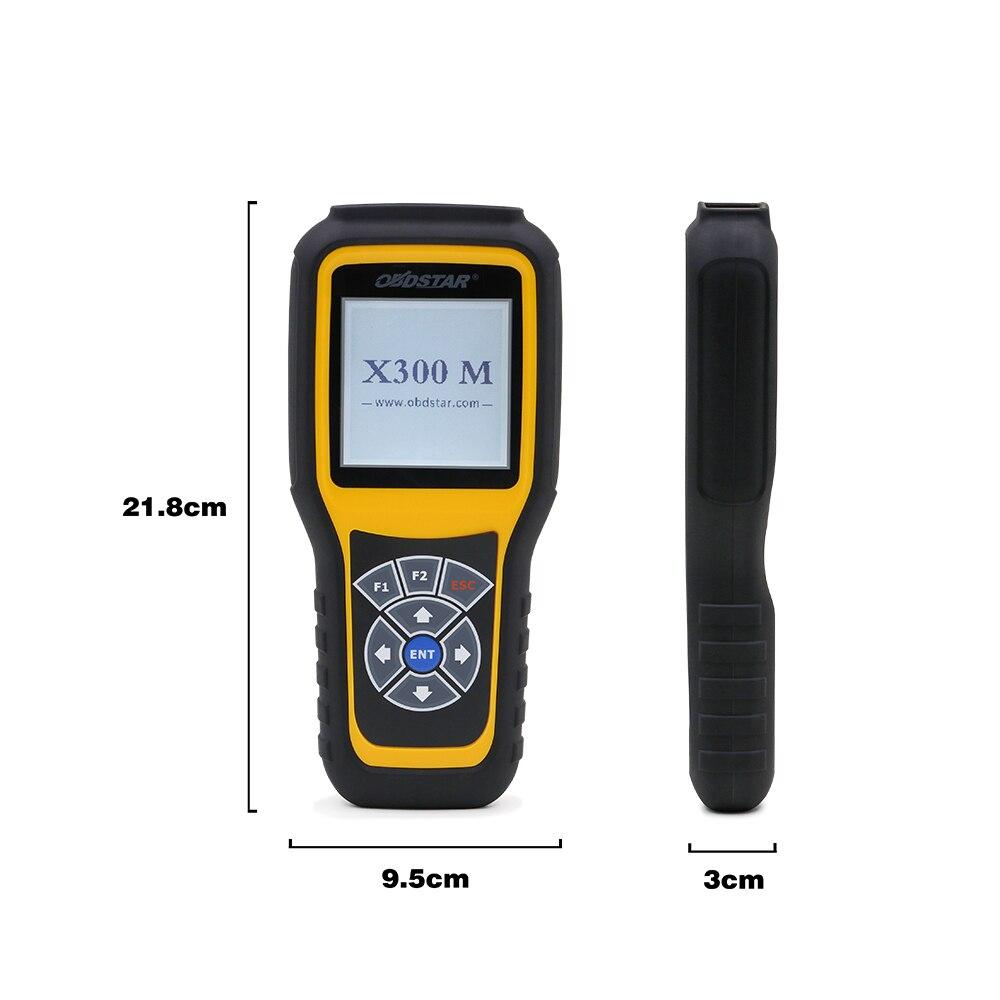 OBDSTAR X300M OBD2 Entfernungsmesser-korrektur Spezielle für Kilometerzähler Einstellung und OBDII Unterstützung Mercedes Benz & MQB VAG KM Funktion