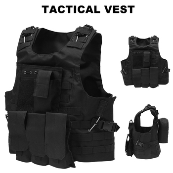Hunting Military Tactical Vest Body Armor Molle Assault Plate Carrier Vest CS Outdoor Paintball Airsoft Vest Military Equipment usmc military airsoft paintball vest body armor molle combat plate carrier tactical vest outddor hunting clothes