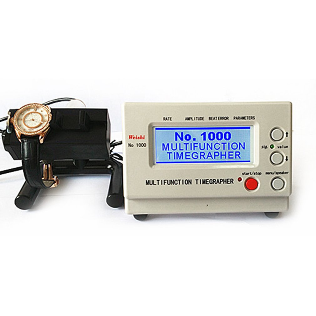 Multifunctional Mechanical Watch Tester Timegrapher Watch Timing Machine Calibration Repair Tools US/UK/AU/EU Plug 110-220V