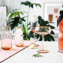 Классический Стеклянный бокал для вина, бокал для шампанского, широкий внутренний обод, бокал для мартини G, бокал для вина с широким внутренним краем
