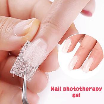 Nowy pęknięty naprawa paznokci żel do paznokci pielęgnacja naprawa nieszkodliwe dla paznokci naprawa złamane paznokcie nadaje się do żel UV do paznokci żel do paznokci narzędzia do paznokci tanie i dobre opinie CN (pochodzenie) transparent