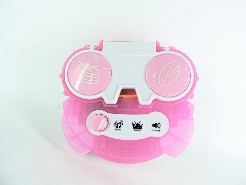 Ice Frozen 2 Dual-Microphone Touch Karaoke CHILDREN'S Toy-Connection Mobile Phone Belt MP3 Line