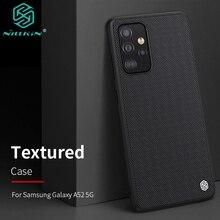 Per Samsung Galaxy A52 custodia 5G Cover posteriore protettiva per PC in fibra di Nylon intrecciata 3D per Galaxy A52 4G Shell NILLKIN originale