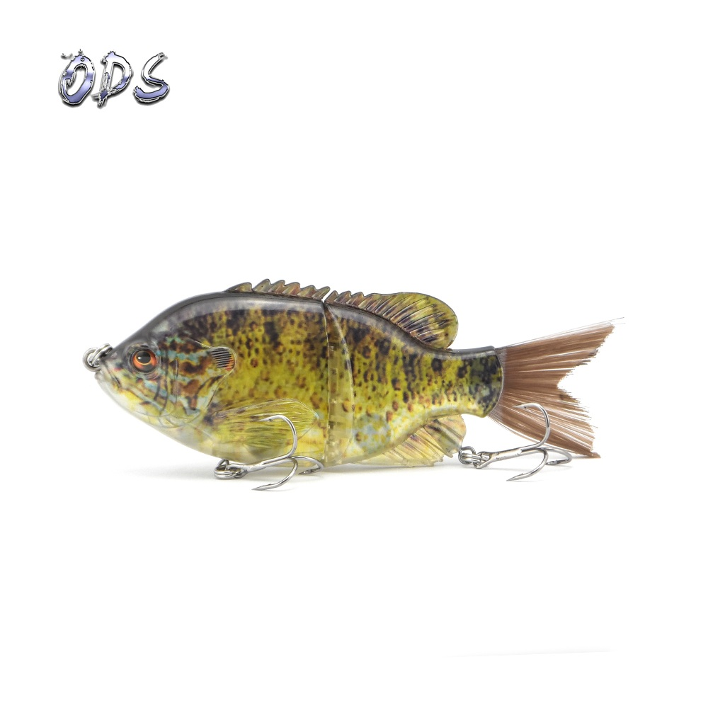 ODS 15cm 58g Fishing Lure Jointed Lures Hard Bait Sinking Lure Swimbait Brush Tail Bass Lure Bluegill Bait Floating Swimbait