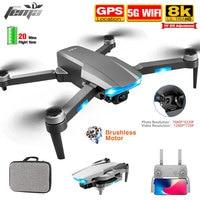 Drone FEMA con videocamera Hd 8K GPS professionale a lunga distanza 5G WiFi FPV Smart Brushless segui S106 RC Quadcopter Dron PK LU3 MAX