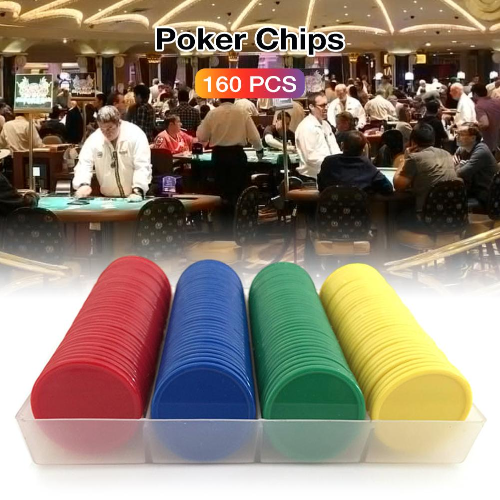 160pcs-plastic-font-b-poker-b-font-chip-no-digital-denomination-chip-printing-for-gaming-tokens-plastic-coins-yellow-green-red-blue-new