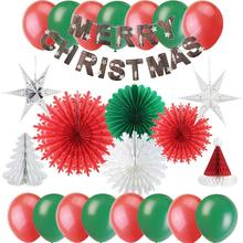 Christmas Home Decoration accessories Festival Kit Xmas Santa Claus Gift Photo Wall Supplies noel 2020 New