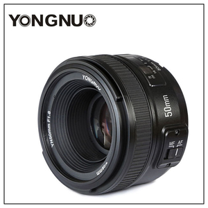 Объектив Yongnuo YN50mm F1.8 C/N, большая Apeature, автофокус для цифровой зеркальной камеры canon, nikon, 500d, 600d, 120d, d5100, d5200, d7000, d3500, d90, d3