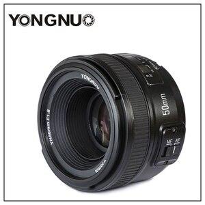 Image 1 - Yongnuo YN50mm F1.8 C/N Ống Kính Lớn Apeature Tự Động Lấy Nét Cho Canon Nikon DSLR Camera 500D 600D 120D D5100 D5200 D7000 D3500 d90 D3