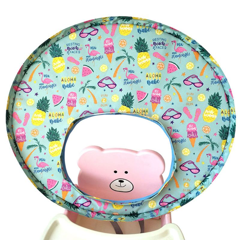 Baby Feeding Saucer High Chair Cover Prevents Food And Toys Falling To Floor Pad