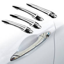 4 Sets Chrom Türgriff Abdeckung Trim Moulding Fit für Hyundai Sonata I45 YF 2011 2012 2013 2014